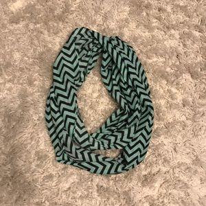 Chevron stripe scarf